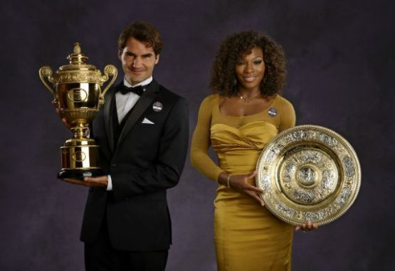 federer serena williams