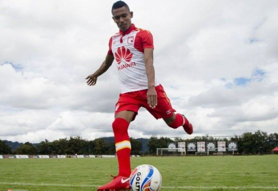 William Tesillo entrenamiento Santa Fe