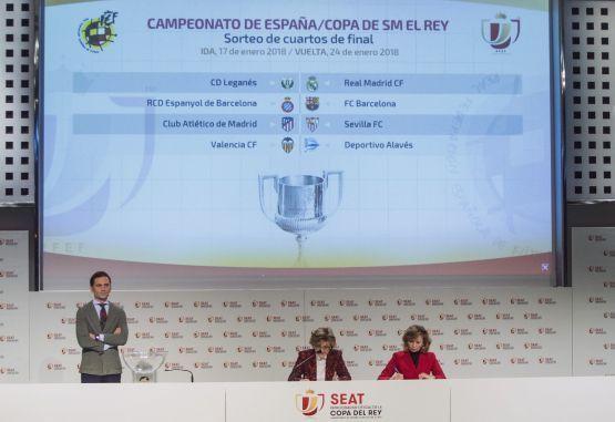 Listas las llaves de Cuartos de final de la Copa del Rey en España ...