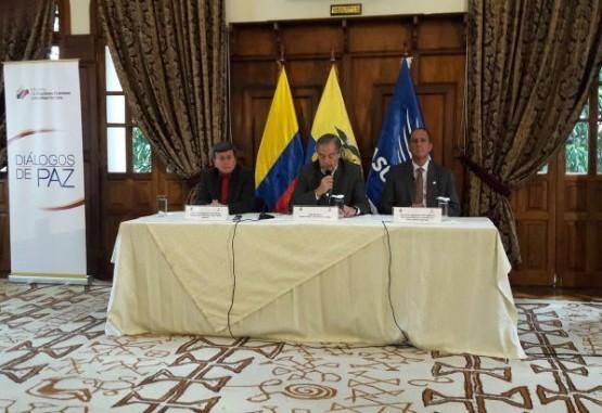 Dos subcomisiones nuevas para la mesa de diálogo con el Eln