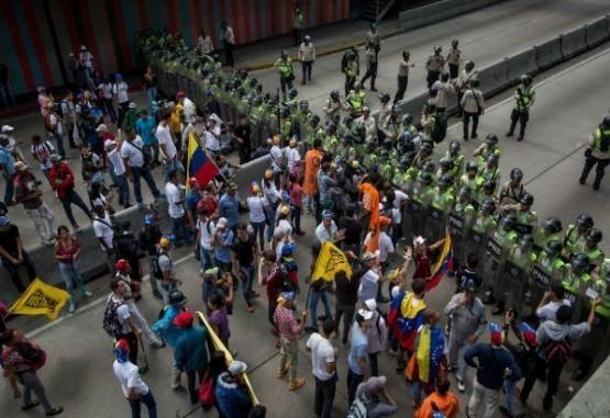 """Oposición venezolana clamó por el fin de la """"dictadura"""""""