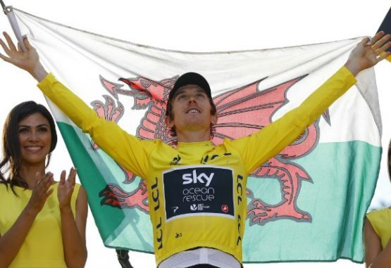 Geraint Thomas campeon Tour