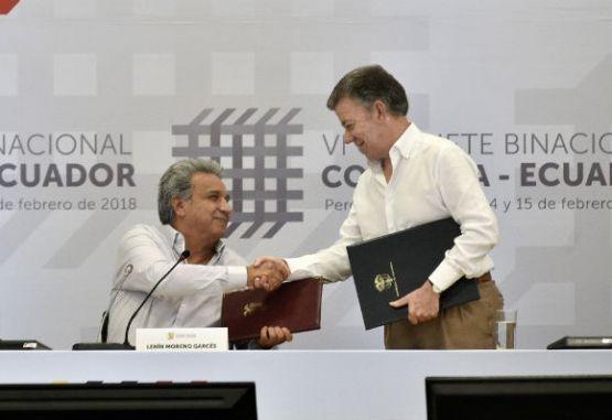 Presidente de Ecuador extiende mensaje de hermandad hacia Colombia ...