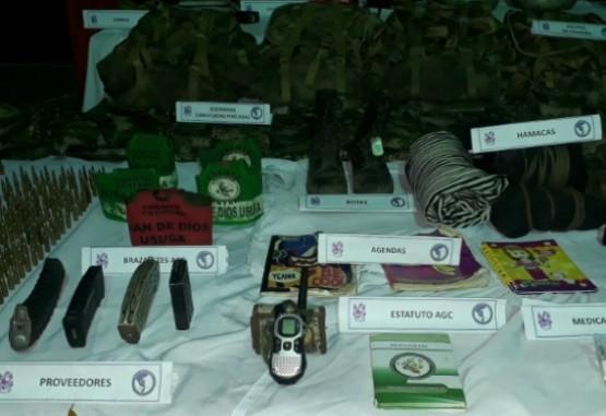Ejército capturó a tres integrantes del clan del golfo