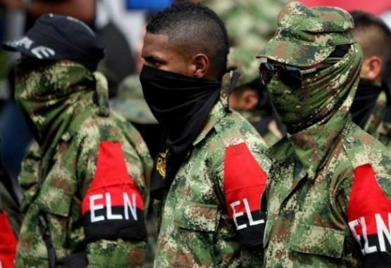 Integrantes del Eln.