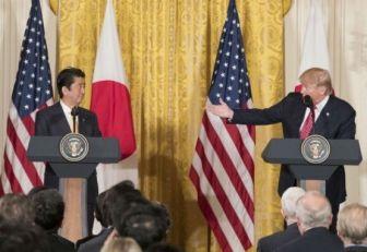 Abe y Trump
