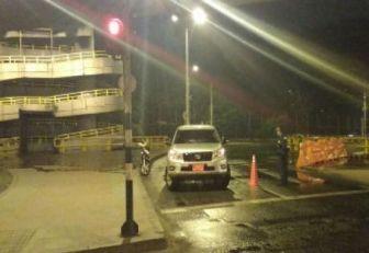 Funcionario de la Alcaldía de Medellín huyó conduciendo embriagado