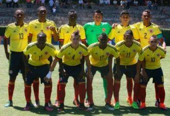 Colombia se estrena en el Sudamericano sub-17