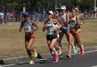 Angie Orjuela terminó segunda en la Media Maratón de Guadalajara