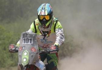 Primera baja colombiana en el Dakar 2017