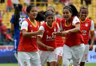 Santa Fe sigue conritmo triunfal en la Liga Femenina