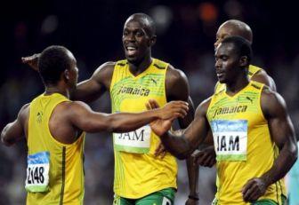 Bolt perdió un oro en relevos tras ser descalificado su compañero Carter en Pekín 2008
