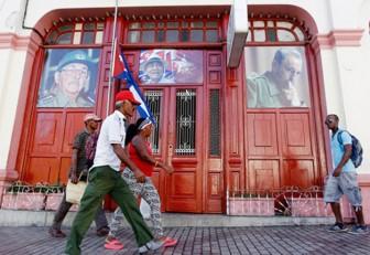 Restos deFidelCastro llegaron a la provincia de Santiago de Cuba