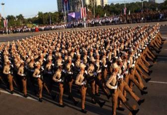 Cuba proclamó lavigencia de su Revolución