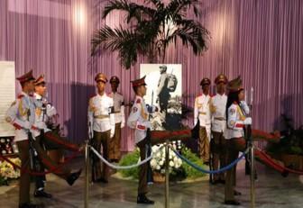 Los cubanos despidieron a Fidel en La Habana