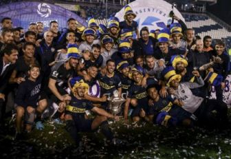 Boca Juniors campeon Superliga
