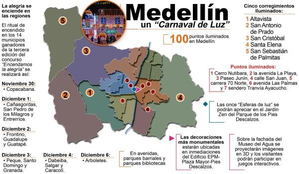 Medell 237 N Un Carnaval De Luz