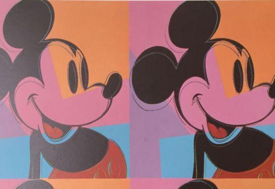 Mickey, por Andy Warhol