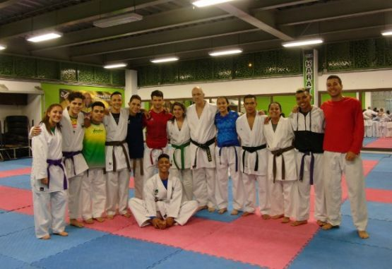 Seleccion Colombia karate