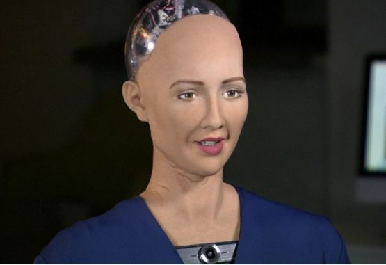 Sophia la robot humanoide