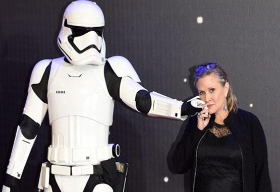 CarrieFisher, la princesa Leia de Star Wars, murió a los 60 años