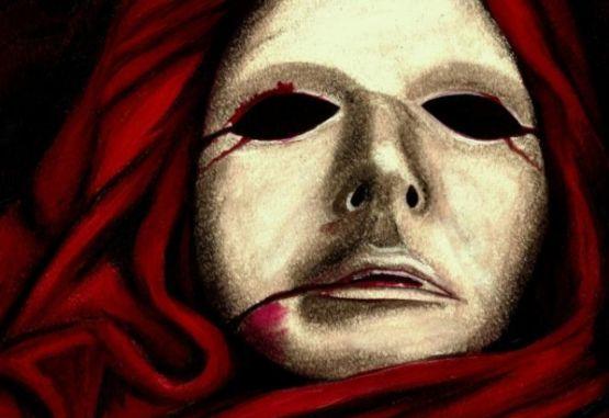 Máscara de la muerte roja