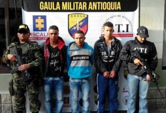 Ejército y CTI capturan a los responsables del secuestro de una menor