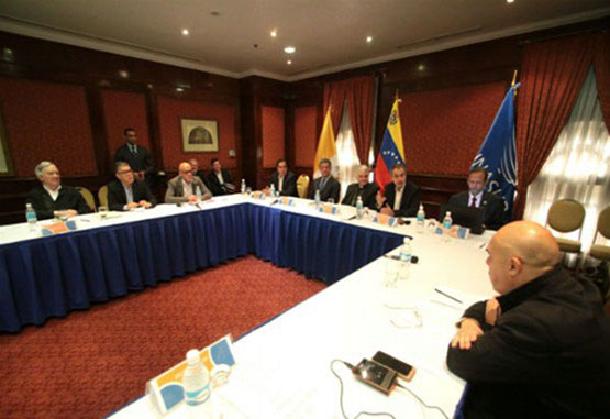 Tambalea el procesode diálogo en Venezuela