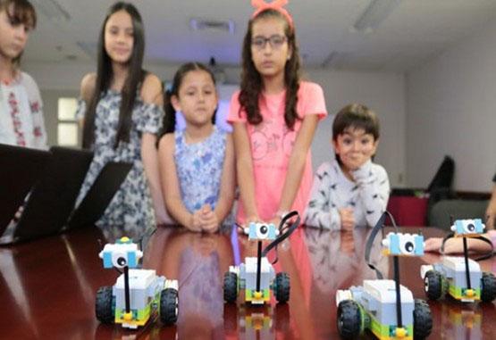 Robótica para niños, nuevo programa educativo de Comfama