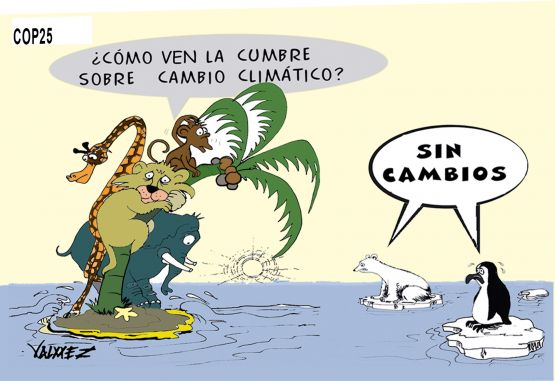 Caricatura COP 25