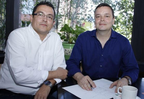 Germán Patiño y Julián D. Jaramillo