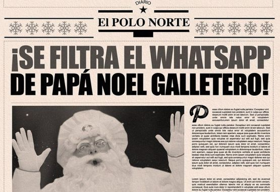 Papá Noel Galletero