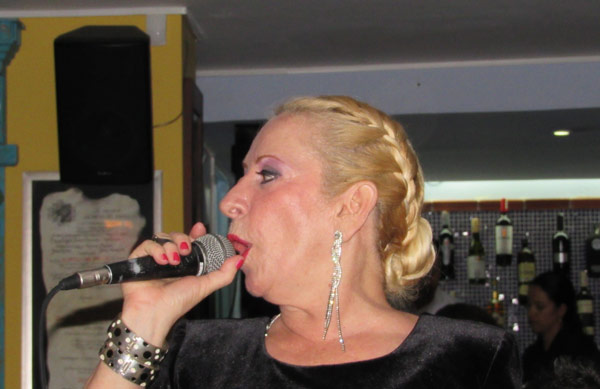 Carolina Ramírez dama del tango