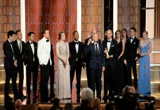 La La Land arrasó en los Globo de Oro
