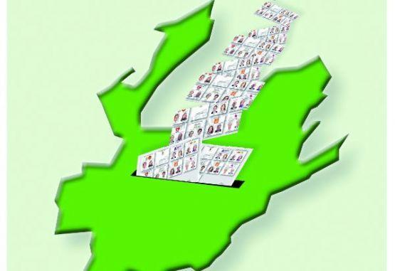 Gráfico de elecciones políticas en Antioquia