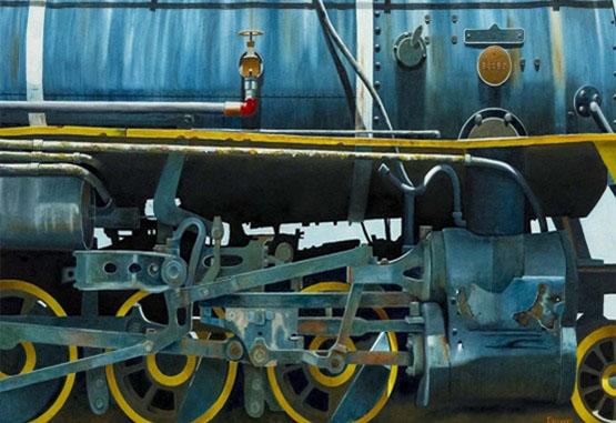 Los trenes nuncaabandonados deRaúl Álvarez