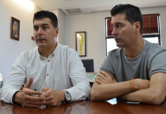 Ismael y Juan Rescalvo