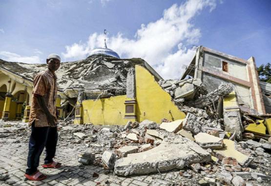 Al menos 94 muertos tras terremoto en Indonesia