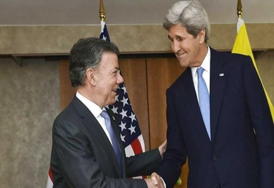 Estados Unidos ha sido un 'permanente' aliado para la paz: Santos