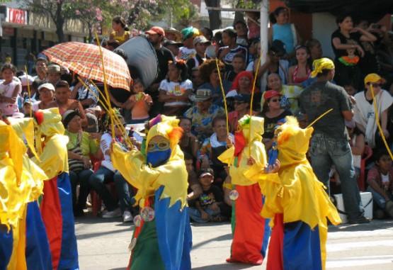 Los niños también fueron protagonistas en el Carnaval de Baranquilla