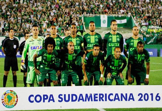 Conmebol otorgó a Chapecoense título de Campeón de la Copa Sudamericana 2016