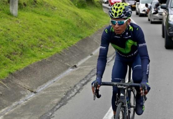 Nairo Quintana se prueba en Abu Dabi