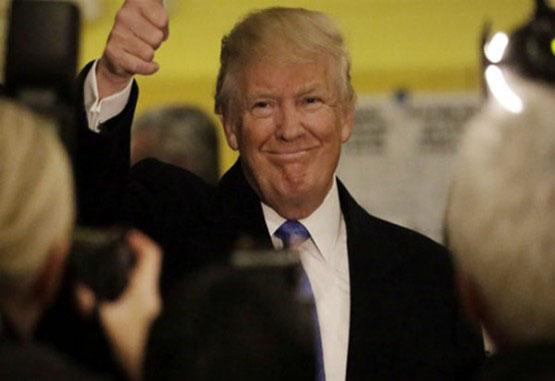 Donald Trump votó en Manhattan y dijo que todo está saliendo 'muy bien'