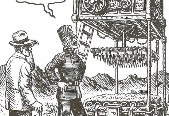 Ilustración máquina de matar