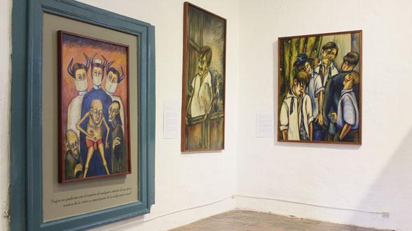 Exposición de Débora Arango