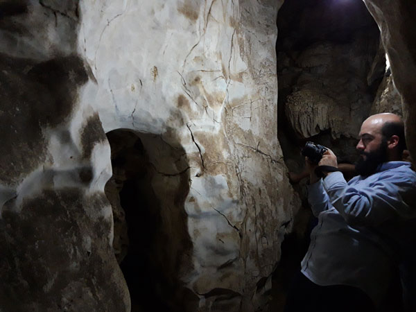 Actividad de registro arqueológico en El Prodigio