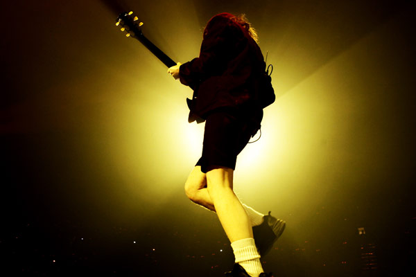 Angus Young guitarrista