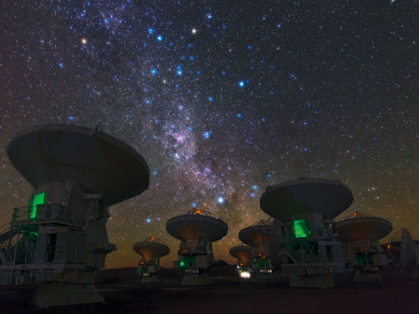 El Atacama Large Millimeter/submillimeter Array (Alma)