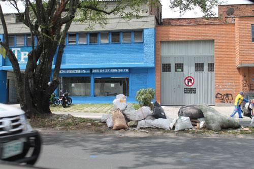 Basuras en Medellín