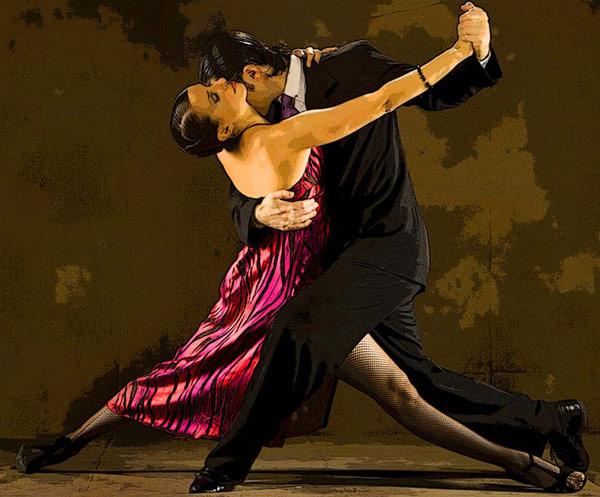 Baile del tango
